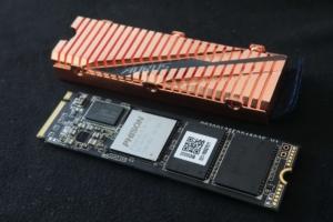 Bild von einer Gigabyte Aorus NVMe Gen4 SSD: Die erste mit PCI Express 4.0