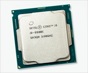 Foto eines Intel-Core-i9-Chips