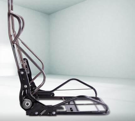 Grundgerüst eines Gemaing-Stuhls