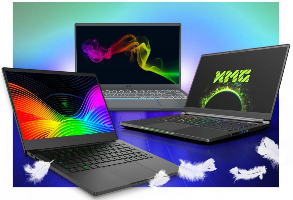 Gaming-Laptop: Drei Ultrabooks
