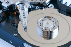 Festplatte: Beispielbild für RAID-System