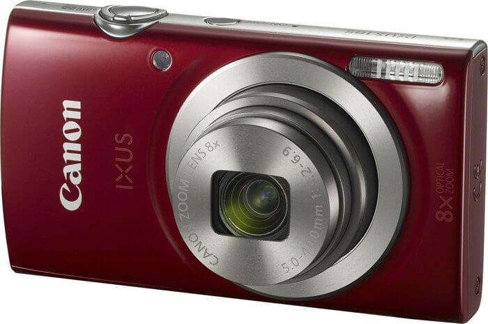 Kamera: Canon Ixus 185 in Weinrot
