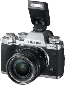 Kamera von Fuji in nostalgischer Optik