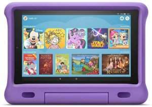 Tablet: Fire HD 10 Kids Edition mit violettem Bumper