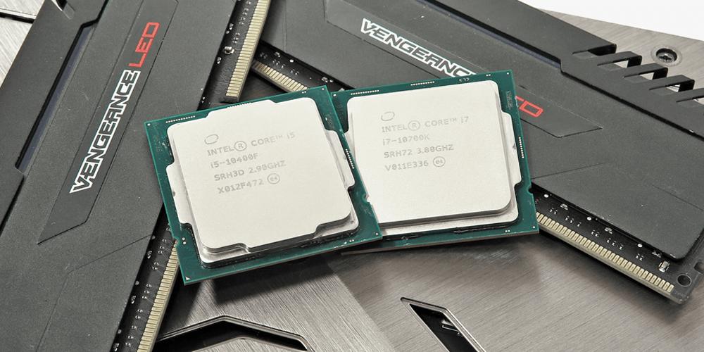 Zwei Intel-CPUs
