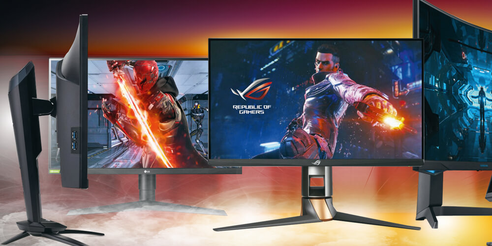Aufmacher Gaming-Monitore